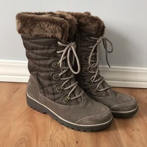 Bear Traps Fur-lined Snow Boots